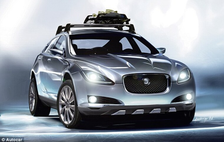 The new Jaguar 4x4 concept
