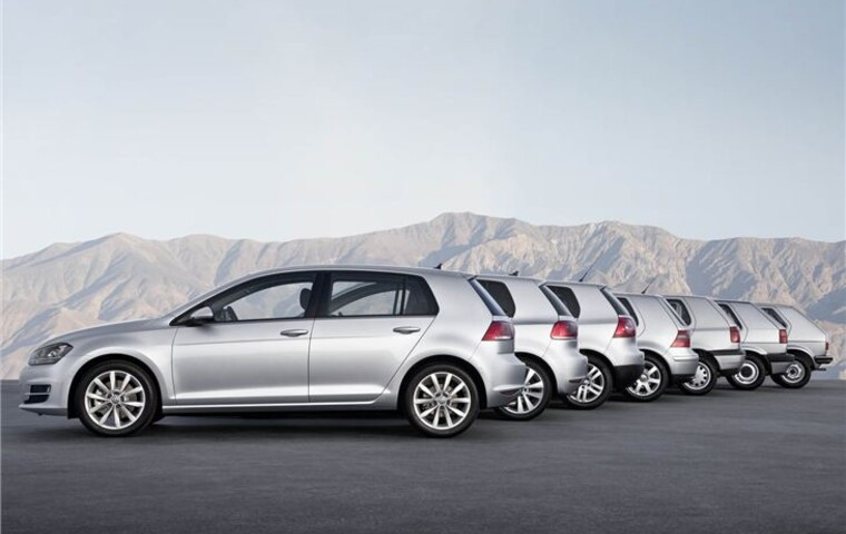 30 Millionth VW Golf rolls off the production line