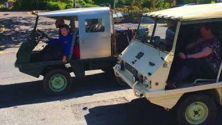 Steyr Puch Haflinger Mk2 convoy Ambleside