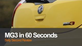 MG3 in under 60 seconds review | Planet Auto