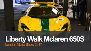 Liberty Walk McLaren 650s at London Motor Show 2017 | Planet Auto