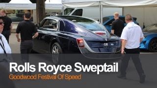 Rolls Royce Sweptail at The Festival of Speed 2017 Goodwood The Most Expensive Rolls Royce Ever