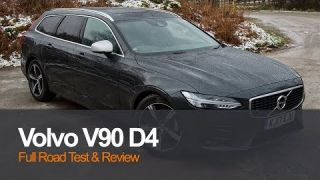 Volvo V90 R-Design Review & Full Road Test | Planet Auto